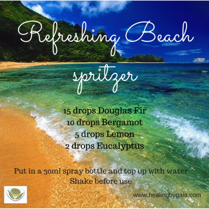 Refreshing Beach spritzer